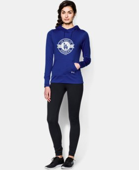 Women's Los Angeles Dodgers UA French Terry Hoodie