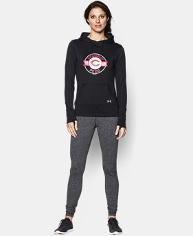 New to Outlet Women's Cincinnati Reds UA French Terry Hoodie LIMITED TIME: FREE U.S. SHIPPING 1 Color $52.99