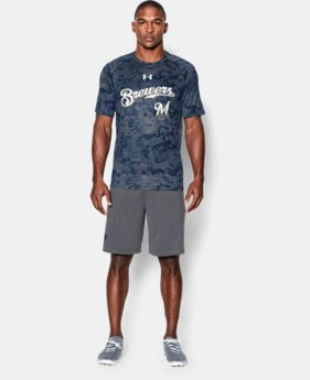 Men's Milwaukee Brewers UA Tech™ T-Shirt