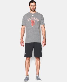 Men's San Francisco Giants Retro Charged Cotton® Tri-Blend T-Shirt