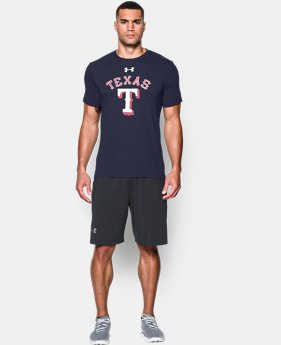 Men's Texas Rangers Retro Charged Cotton® Tri-Blend T-Shirt