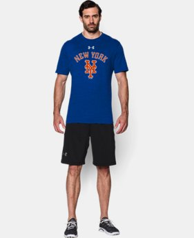Men's New York Mets Retro Charged Cotton® Tri-Blend T-Shirt