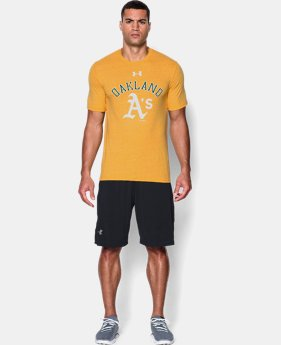Men's Oakland Athletics Retro Charged Cotton® Tri-Blend T-Shirt