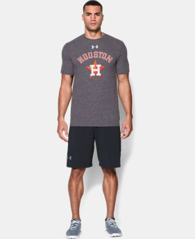 Men's Houston Astros Retro Charged Cotton® Tri-Blend T-Shirt