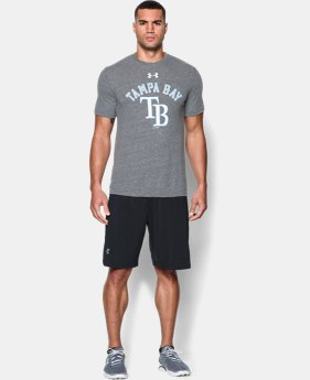 Men's Tampa Bay Rays Retro Charged Cotton® Tri-Blend T-Shirt LIMITED TIME: FREE U.S. SHIPPING 1 Color $34.99