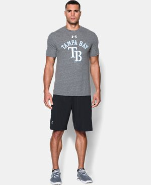 Men's Tampa Bay Rays Retro Charged Cotton® Tri-Blend T-Shirt  1 Color $34.99