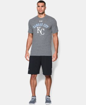 Men's Kansas City Royals Retro Charged Cotton® Tri-Blend T-Shirt