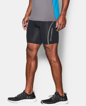 New Arrival  Men's UA CoolSwitch Run Compression Shorts   $64.99