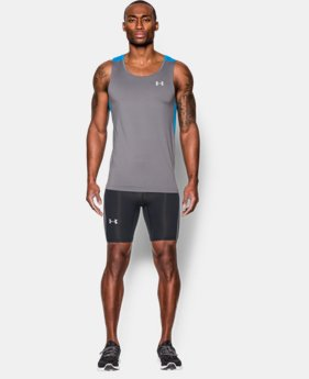 New Arrival  Men's UA CoolSwitch Run Compression Shorts LIMITED TIME: FREE SHIPPING 1 Color $64.99