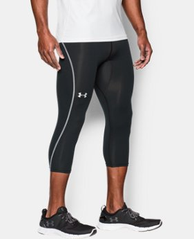 Men's UA CoolSwitch Run Compression ¾ Leggings  1 Color $41.99