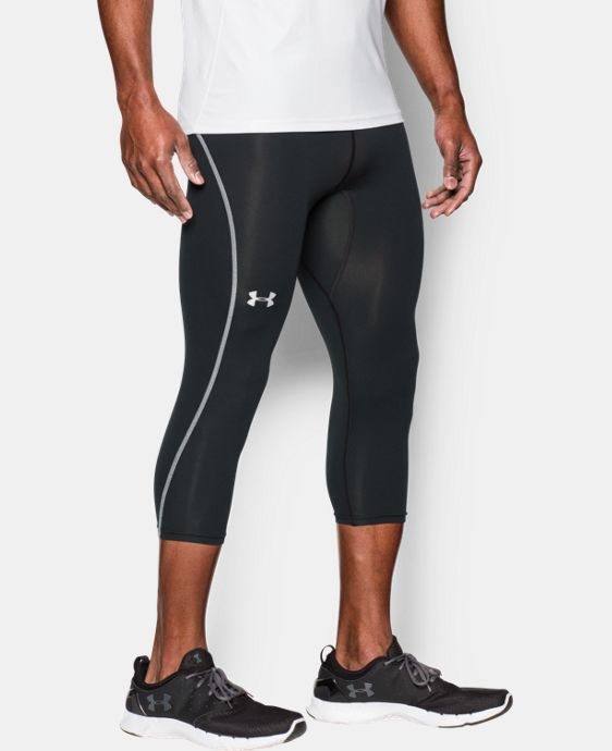 Men's UA CoolSwitch Run Compression ¾ Leggings LIMITED TIME: FREE SHIPPING 1 Color $69.99