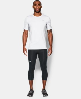 Men's UA CoolSwitch Run Compression ¾ Leggings  1 Color $69.99