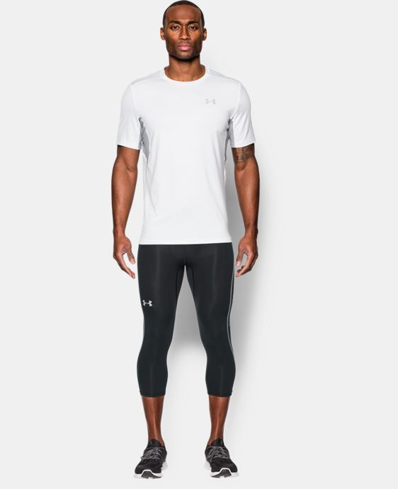 Men's UA CoolSwitch Run Compression ¾ Leggings   $69.99