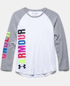 Girls' UA Favorite Long Sleeve T-Shirt