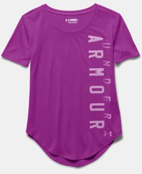 Girls' UA Your Favorite Tech™ T-Shirt