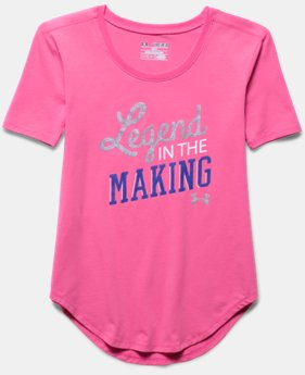 Girls' UA Legend In The Making Short Sleeve