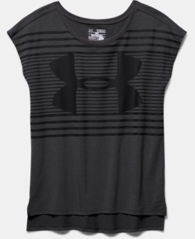 Girls' UA Favorite Short Sleeve T-Shirt
