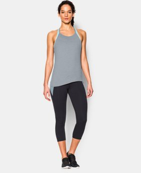 Women's UA Studio Flowy Tank  1 Color $37.99