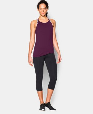 Women's UA Studio Flowy Tank  1 Color $28.49