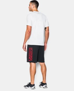 New Arrival  Men's UA Tech™ Graphic Shorts   $29.99