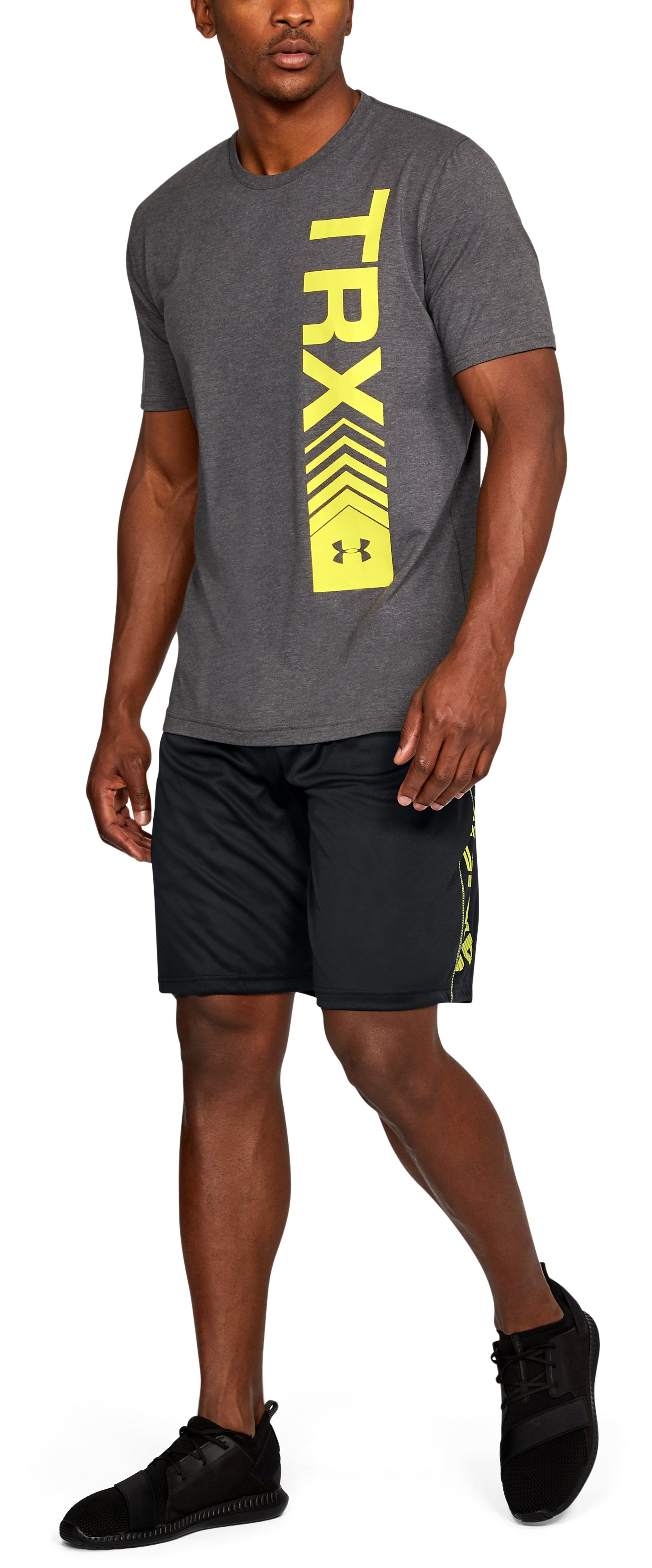 Men's UA Tech™ Graphic Shorts, Black , undefined