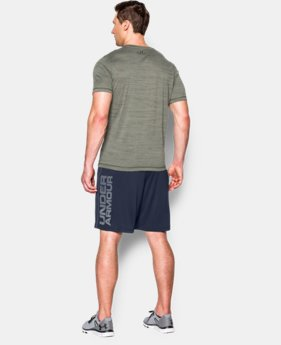 Best Seller  Men's UA Tech™ Graphic Shorts LIMITED TIME: FREE SHIPPING 1 Color $29.99