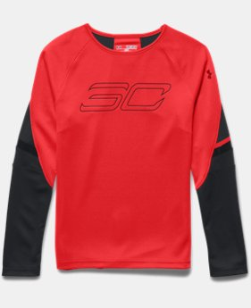 Boys' SC30 Heatseeker Shooting Shirt