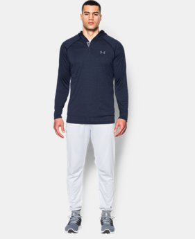 New Arrival  Men's UA Tech™ Popover Hoodie   $37.99 to $49.99