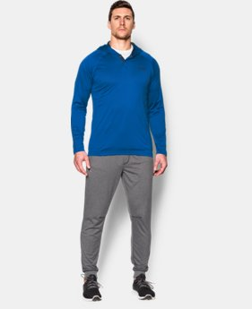 New Arrival  Men's UA Tech™ Popover Hoodie  10 Colors $37.99 to $49.99