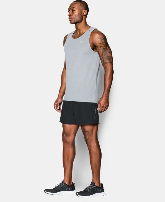"Men's UA Launch 5"" Run Shorts  1 Color $33.99"