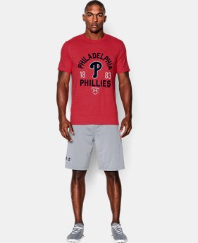 Men's Philadelphia Phillies Charged Cotton® Tri-Blend T-Shirt