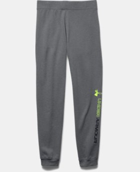 Boys' UA Commuter Tri-Blend Fleece Jogger Pants