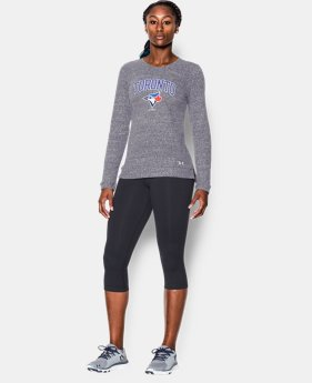 Women's Toronto Blue Jays French Terry Crew