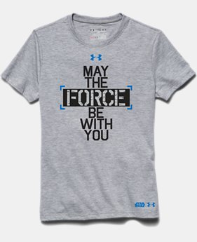 Boys' Star Wars Force Be With You UA T-Shirt