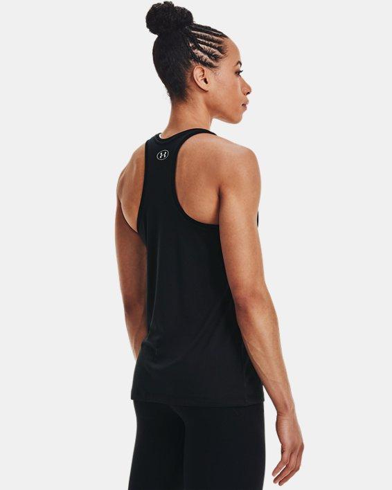 Women's UA Tech™ Tank, Black, pdpMainDesktop image number 4