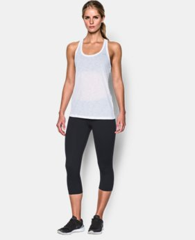 Women's UA Tech™ Slub Tank LIMITED TIME: FREE SHIPPING 3 Colors $27.99