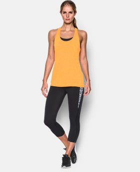 Women's UA Tech™ Slub Tank LIMITED TIME: FREE SHIPPING 1 Color $27.99
