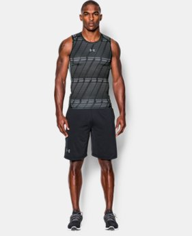 Men's UA HeatGear® Armour Printed Compression Tank   1 Color $26.99