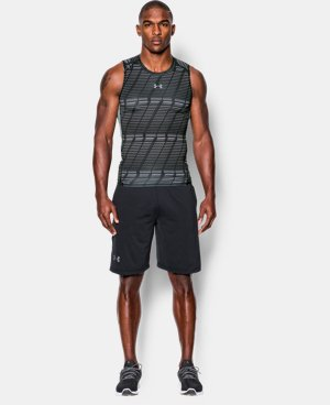 Men's UA HeatGear® Armour Printed Compression Tank  LIMITED TIME: FREE SHIPPING 1 Color $26.99