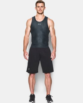 Men's UA HeatGear® Armour Printed Compression Tank