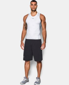 New Arrival  Men's UA HeatGear® Armour Printed Compression Tank   1 Color $34.99