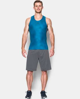 Men's UA HeatGear® Armour Printed Compression Tank  LIMITED TIME: FREE SHIPPING 1 Color $29.99