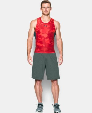 Men's UA HeatGear® Armour Printed Compression Tank  LIMITED TIME: FREE U.S. SHIPPING 1 Color $17.24 to $22.99