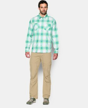 Men's UA Chesapeake Plaid Long Sleeve Shirt LIMITED TIME: FREE SHIPPING 1 Color $79.99