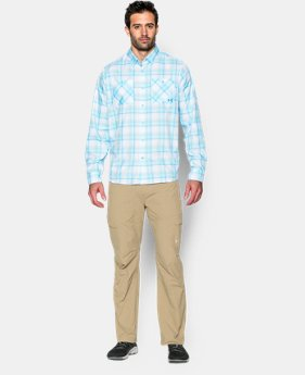Men's UA Chesapeake Plaid Long Sleeve Shirt  1 Color $59.99