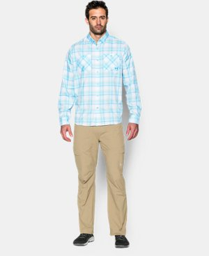 Men's UA Chesapeake Plaid Long Sleeve Shirt LIMITED TIME: FREE U.S. SHIPPING 1 Color $44.99