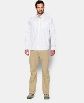Men's UA Chesapeake Plaid Long Sleeve Shirt  1 Color $79.99
