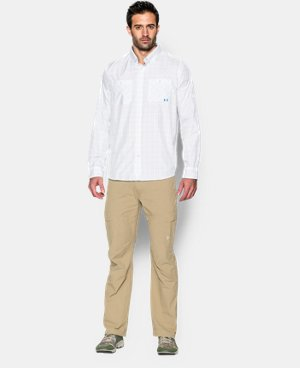 Men's UA Chesapeake Plaid Long Sleeve Shirt   $89.99
