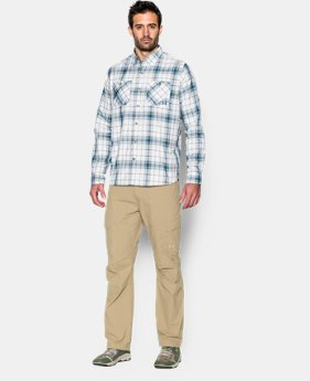 Men's UA Chesapeake Plaid Long Sleeve Shirt