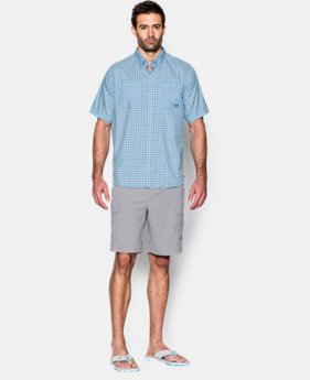 Men's UA Chesapeake Plaid Short Sleeve Shirt